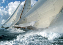 Candida and Astra at the Nioulargue © Guillaume Plisson / Pêcheur d'Images / AA00002 - Photo Galleries - Classic Yachting
