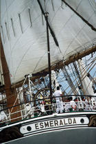 Poupe de l'Esmeralda. © Philip Plisson / Pêcheur d'Images / AA00841 - Photo Galleries - Tall ships
