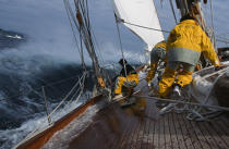 Aboard Candida. © Guillaume Plisson / Pêcheur d'Images / AA01149 - Photo Galleries - Classic Yachting