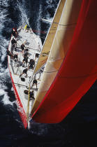 Il Moro, America's cup. © Philip Plisson / Pêcheur d'Images / AA01212 - Photo Galleries - America's Cup