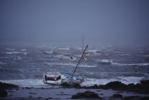 Stranding during the 1996 storm. © Philip Plisson / Pêcheur d'Images / AA01830 - Photo Galleries - Storms