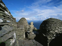 Skellig Michael in Ireland. © Philip Plisson / Pêcheur d'Images / AA02405 - Photo Galleries - Ireland, the green island