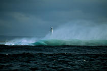 Inisheer Lighthouse, Aran Islands. © Philip Plisson / Pêcheur d'Images / AA02453 - Photo Galleries - Irish Lighthouses
