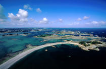 Archipelago of Port-Blanc. © Philip Plisson / Pêcheur d'Images / AA03753 - Photo Galleries - Côtes d'Armor