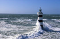 Waves on the Banche. © Philip Plisson / Pêcheur d'Images / AA03879 - Photo Galleries - French Lighthouses