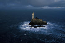 Un phare mytique : le Fastnet © Philip Plisson / Pêcheur d'Images / AA05017 - Nos reportages photos - Phare [Irl]