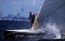 No. 1 on Team New Zealand. © Philip Plisson / Pêcheur d'Images / AA05177 - Photo Galleries - America's Cup