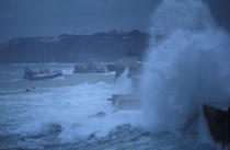 Storm on St. Jean de Luz. © Philip Plisson / Pêcheur d'Images / AA05993 - Photo Galleries - Storms