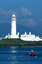 Lismore lighthouse. © Philip Plisson / Pêcheur d'Images / AA06888 - Photo Galleries - Great Britain Lighthouses