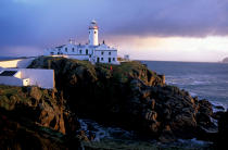 Le phare de Fanad Head en Irlande. © Philip Plisson / Pêcheur d'Images / AA08588 - Nos reportages photos - Phares Irlande