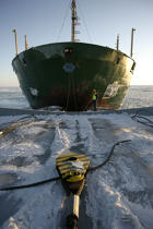 Icebreaker in the Baltic Sea. © Philip Plisson / Pêcheur d'Images / AA09093 - Photo Galleries - Icebreaker in the Baltic