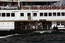 "Ferry boat or ""Vapurs"" in Istanbul. © Philip Plisson / Pêcheur d'Images / AA09361 - Photo Galleries - Istanbul, the Bosphorus"