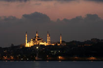The Blue mosque in Istanbul. © Philip Plisson / Pêcheur d'Images / AA09407 - Photo Galleries - Istanbul, the Bosphorus