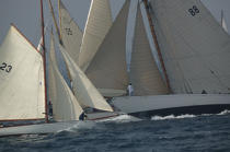 Moonbeam during the Voiles of St Tropez. © Philip Plisson / Pêcheur d'Images / AA09806 - Photo Galleries - Classic Yachting
