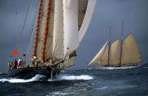 Mariette. © Philip Plisson / Pêcheur d'Images / AA09867 - Photo Galleries - Gaff schooner