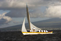 Whaling boat in the Azores. © Philip Plisson / Pêcheur d'Images / AA10623 - Photo Galleries - Pico