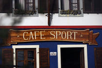 "The Café Sport ""Chez Peter"" in Horta. © Philip Plisson / Pêcheur d'Images / AA10648 - Photo Galleries - Faial and Pico islands in the Azores"