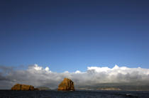 Rocks in front of Pico island in the Azores. © Philip Plisson / Pêcheur d'Images / AA10659 - Photo Galleries - Pico
