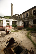 Old whaling factory on the Pico island in the Azores. © Philip Plisson / Pêcheur d'Images / AA10672 - Photo Galleries - Pico