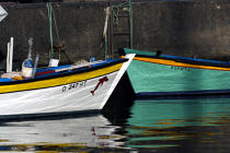 Registrations in Horta harbour in the Azores. © Philip Plisson / Pêcheur d'Images / AA10790 - Photo Galleries - Azores [The]