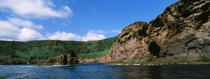 Coastal landscape of Faial Island in the Azores. © Philip Plisson / Pêcheur d'Images / AA10799 - Photo Galleries - Azores [The]