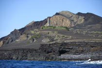 Dos Capelinhos point on Faial in the Azores. © Philip Plisson / Pêcheur d'Images / AA10881 - Photo Galleries - Azores [The]