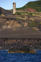 Dos Capelinhos point on Faial in the Azores. © Philip Plisson / Pêcheur d'Images / AA10884 - Photo Galleries - Azores [The]