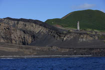 Dos Capelinhos point on Faial in the Azores. © Philip Plisson / Pêcheur d'Images / AA10885 - Photo Galleries - Azores [The]
