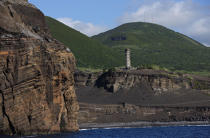 Dos Capelinhos point on Faial in the Azores. © Philip Plisson / Pêcheur d'Images / AA10886 - Photo Galleries - Faial and Pico islands in the Azores