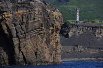 Dos Capelinhos point on Faial in the Azores. © Philip Plisson / Pêcheur d'Images / AA10887 - Photo Galleries - Azores [The]