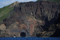 Dos Capelinhos point on Faial in the Azores. © Philip Plisson / Pêcheur d'Images / AA10892 - Photo Galleries - Azores [The]