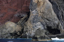 Dos Capelinhos point on Faial in the Azores. © Philip Plisson / Pêcheur d'Images / AA10893 - Photo Galleries - Azores [The]