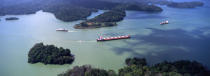 The Levant in Panama canal. © Philip Plisson / Pêcheur d'Images / AA11027 - Photo Galleries - Panama Canal