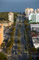 Street of Miami. © Philip Plisson / Pêcheur d'Images / AA11435 - Photo Galleries - Flora