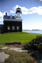 Lighthouse in Connecticut. © Philip Plisson / Pêcheur d'Images / AA11451 - Photo Galleries - Flora