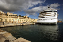 Port of Malta. © Philip Plisson / Pêcheur d'Images / AA11689 - Photo Galleries - Colours of Malta