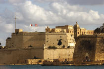 Ramparts of Valletta. © Philip Plisson / Pêcheur d'Images / AA11692 - Photo Galleries - Colours of Malta