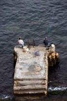 Fishermen on Malta. © Philip Plisson / Pêcheur d'Images / AA11712 - Photo Galleries - Colours of Malta