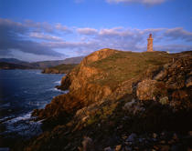 Cap Béar lighthouse. © Philip Plisson / Pêcheur d'Images / AA12008 - Photo Galleries - French Lighthouses