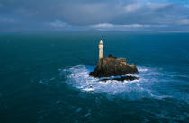 Le Fastnet. © Philip Plisson / Pêcheur d'Images / AA12224 - Nos reportages photos - Phares Irlande