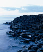 The Giant's Causeway in Irland. © Philip Plisson / Pêcheur d'Images / AA12234 - Photo Galleries - Ireland, the green island