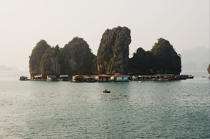 Island in Along Bay. © Philip Plisson / Pêcheur d'Images / AA12374 - Photo Galleries - Along Bay, Vietnam