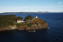 Owls Head Light in Maine. © Philip Plisson / Pêcheur d'Images / AA13218 - Photo Galleries - American Lighthouses