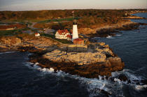 Portland Head Light in Maine. © Philip Plisson / Pêcheur d'Images / AA13368 - Photo Galleries - American Lighthouses