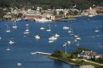 Woods Hole in Massachusetts. © Philip Plisson / Pêcheur d'Images / AA13722 - Photo Galleries - Massachusetts