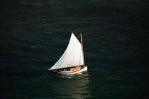 Sailing boat in Massachusetts. © Philip Plisson / Pêcheur d'Images / AA13730 - Photo Galleries - Massachusetts