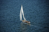 Sailing boat in Massachusetts. © Philip Plisson / Pêcheur d'Images / AA13731 - Photo Galleries - Massachusetts