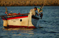 Offshore fishing in the Azores. © Philip Plisson / Pêcheur d'Images / AA14108 - Photo Galleries - Azores [The]