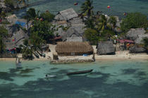 The archipelago off San Blas in Panama. © Philip Plisson / Pêcheur d'Images / AA14130 - Photo Galleries - The San Blas Archipelago