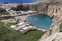 Small port on Gozo island in Malta. © Philip Plisson / Pêcheur d'Images / AA14149 - Photo Galleries - Colours of Malta